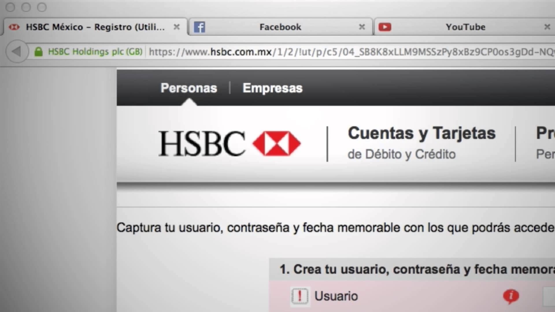 Banca en linea hsbc