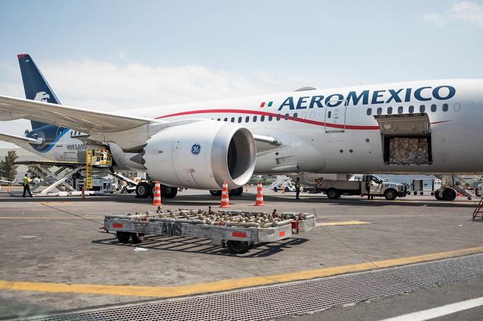 Aeroméxico transporta carga entre China y México | Revista NEO