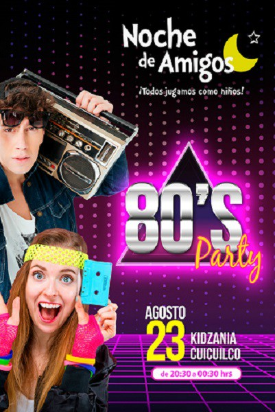 Back to 80´s en KidZania