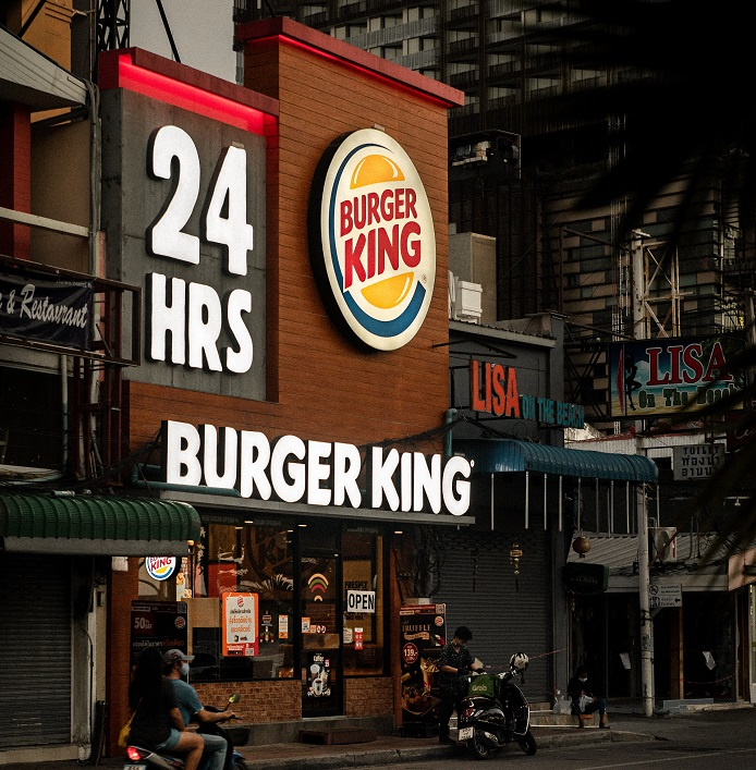 Burger King habilita pedidos por WhatsApp