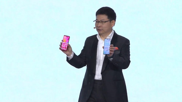 Richard Yu, CEO de HUAWEI Consumer Business Group Huawei P30 Pro