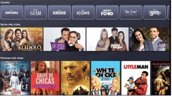 Aumenta la audiencia de VIX -Cine & TV servicio de streaming