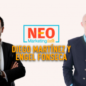 Diego Martínez de Velasco y Engel Fonseca en NEO Marketing Talk